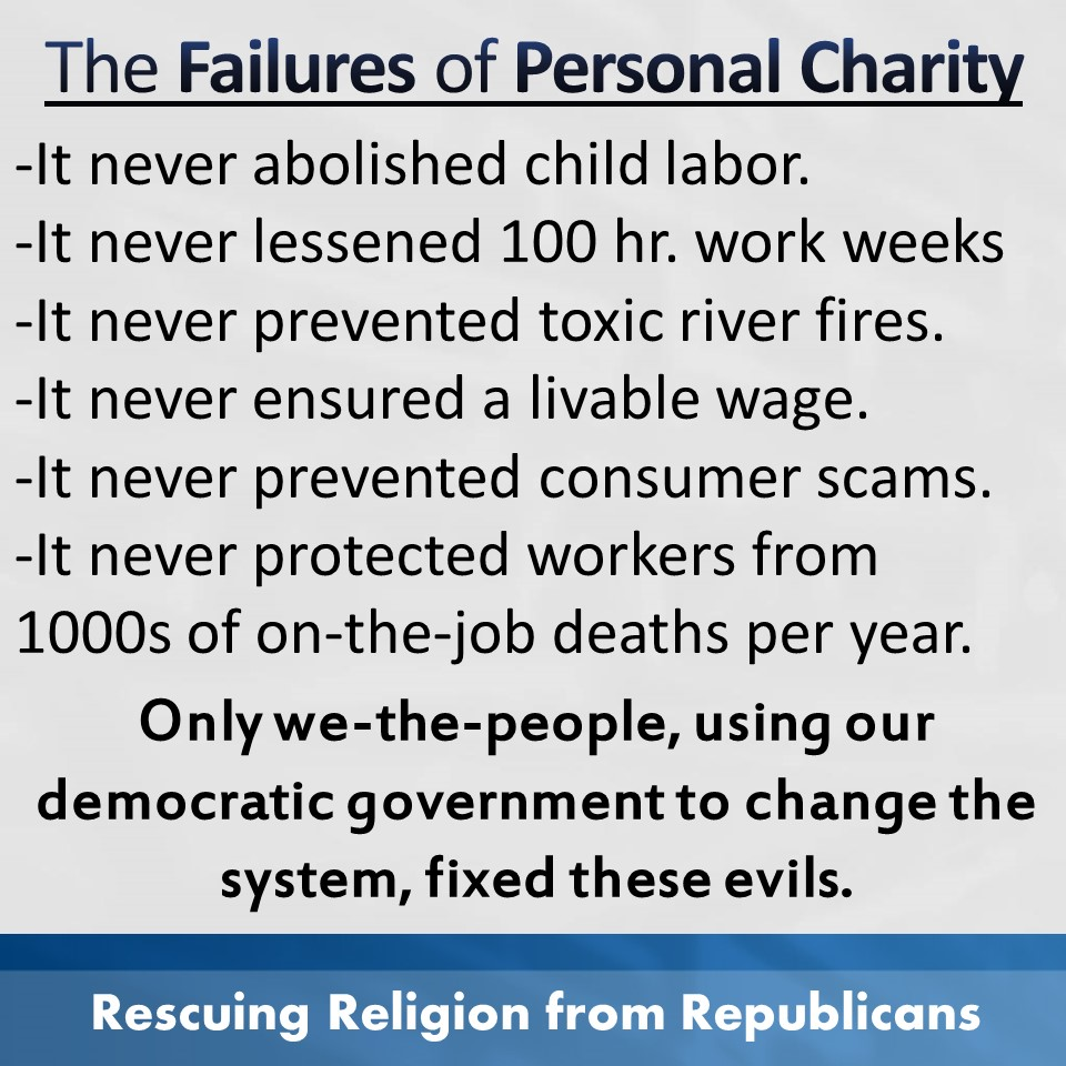 Charity - Failures of it