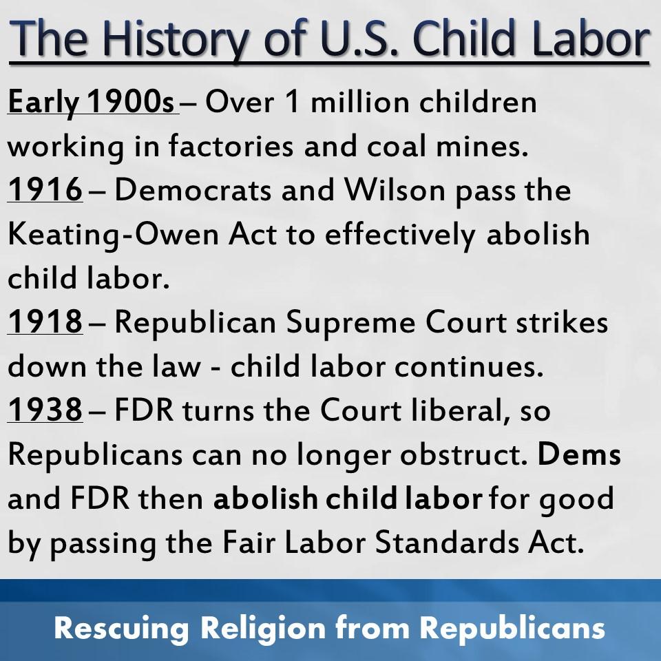 Child Labor History