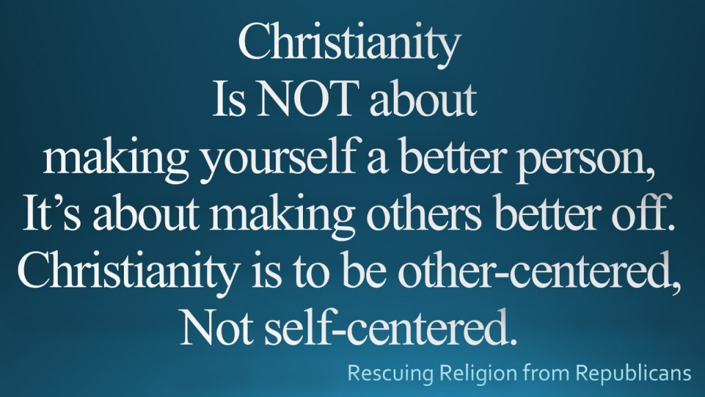 Christianity - better person