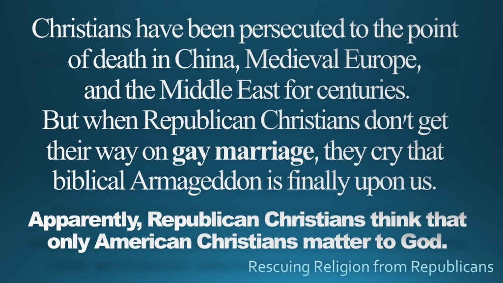 Christians have been Persecuted