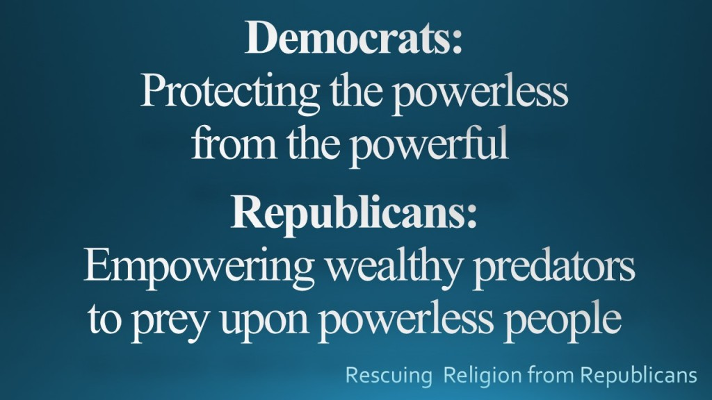 Democrats-Repub powerless