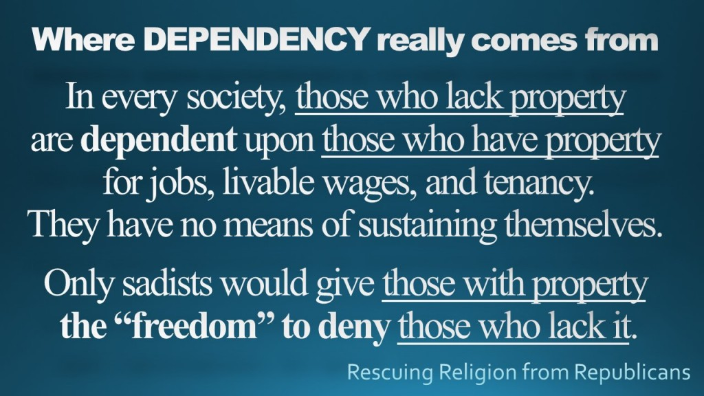 Dependency - freedom to deny
