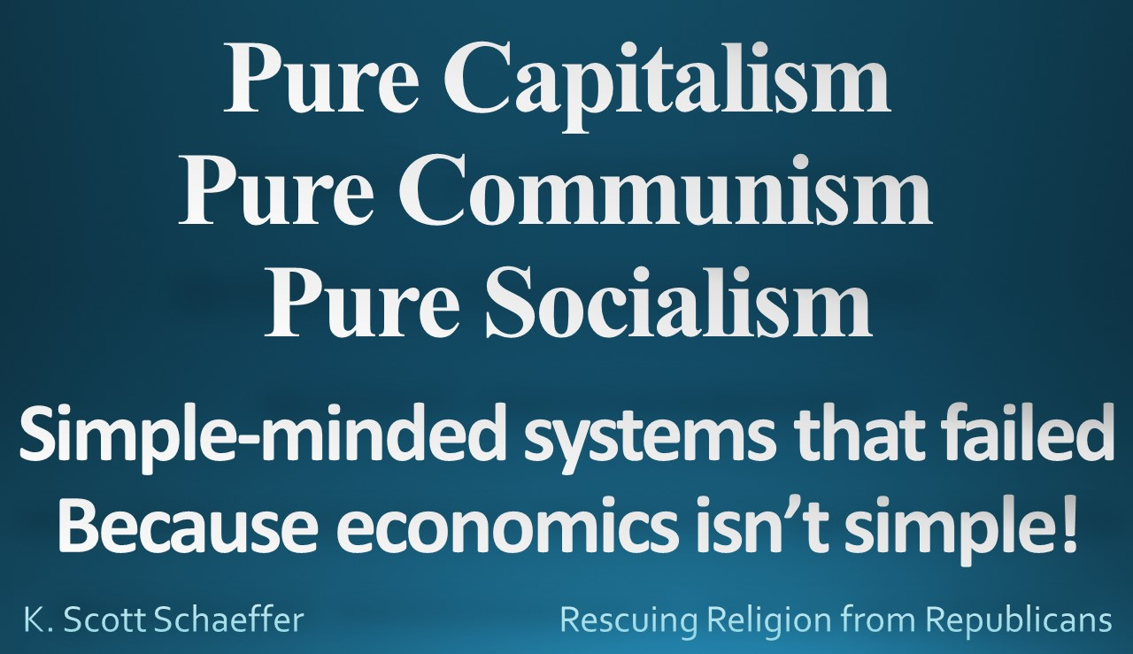 Econ - pure systems simple minded