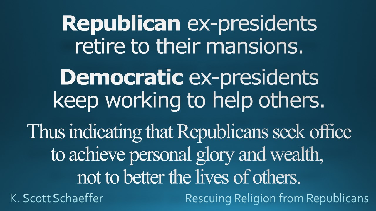 Ex-presidents - helping others