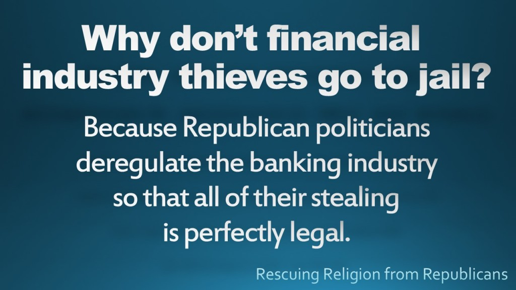 Financial Industry Thieves
