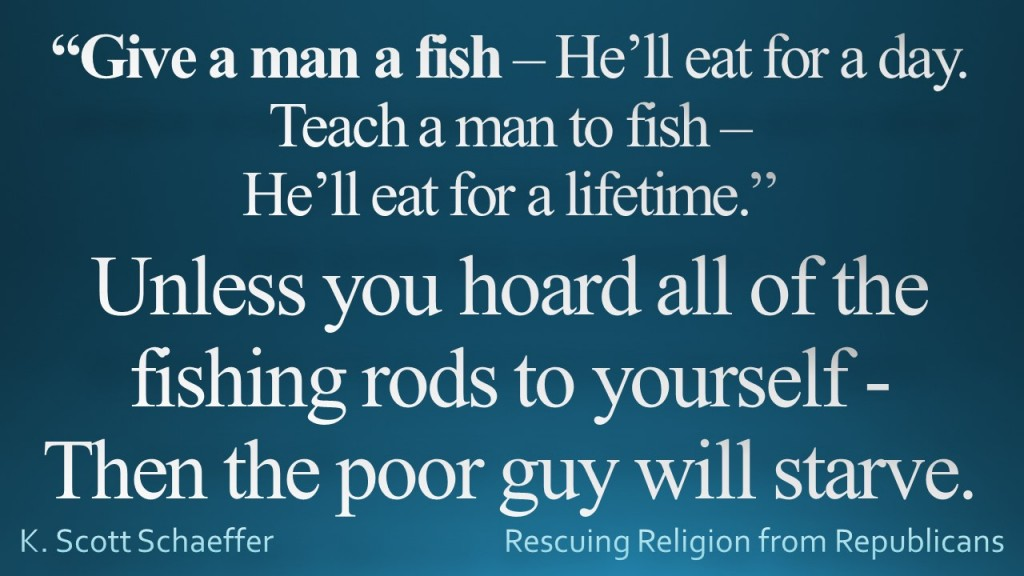 Give a Man to Fish