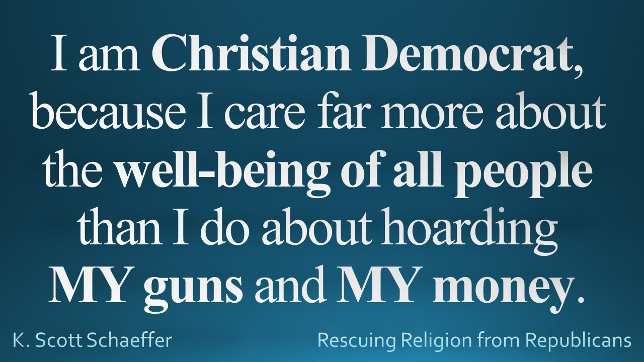 Guns - Christian Democrat