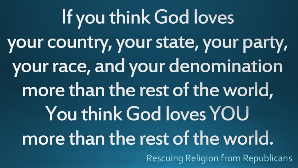If you think God loves