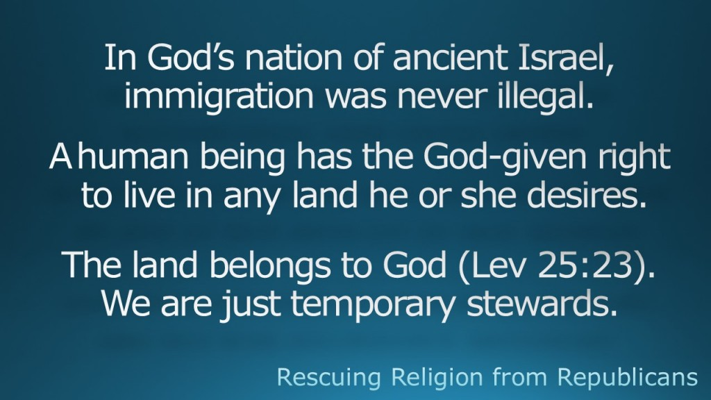 In God's nation of ancient Israel,