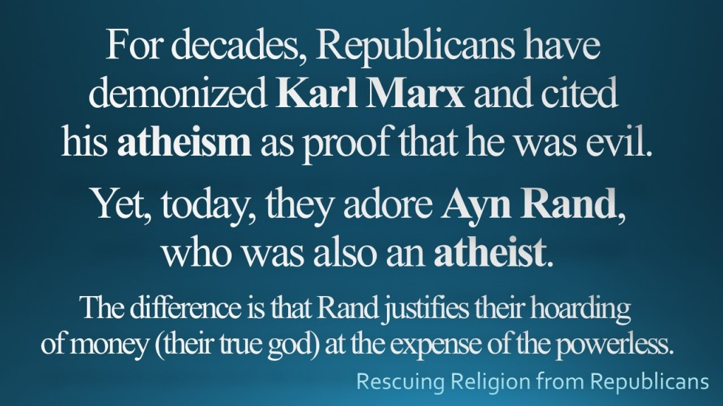 Karl Marx - Ayn Rand Atheist