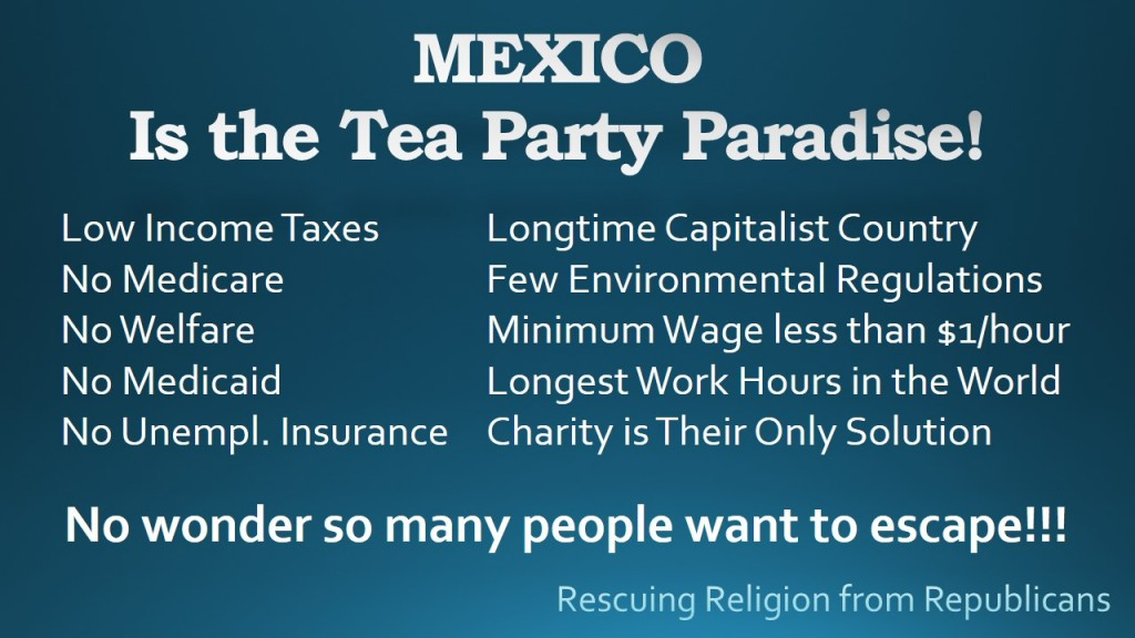 MEXICO - Tea Party Paradise