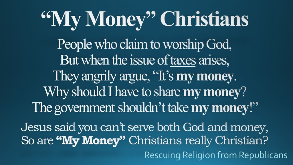My Money Christians