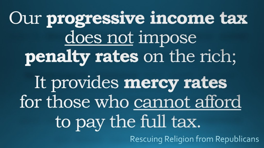 Progressive Tax - Mercy Rates
