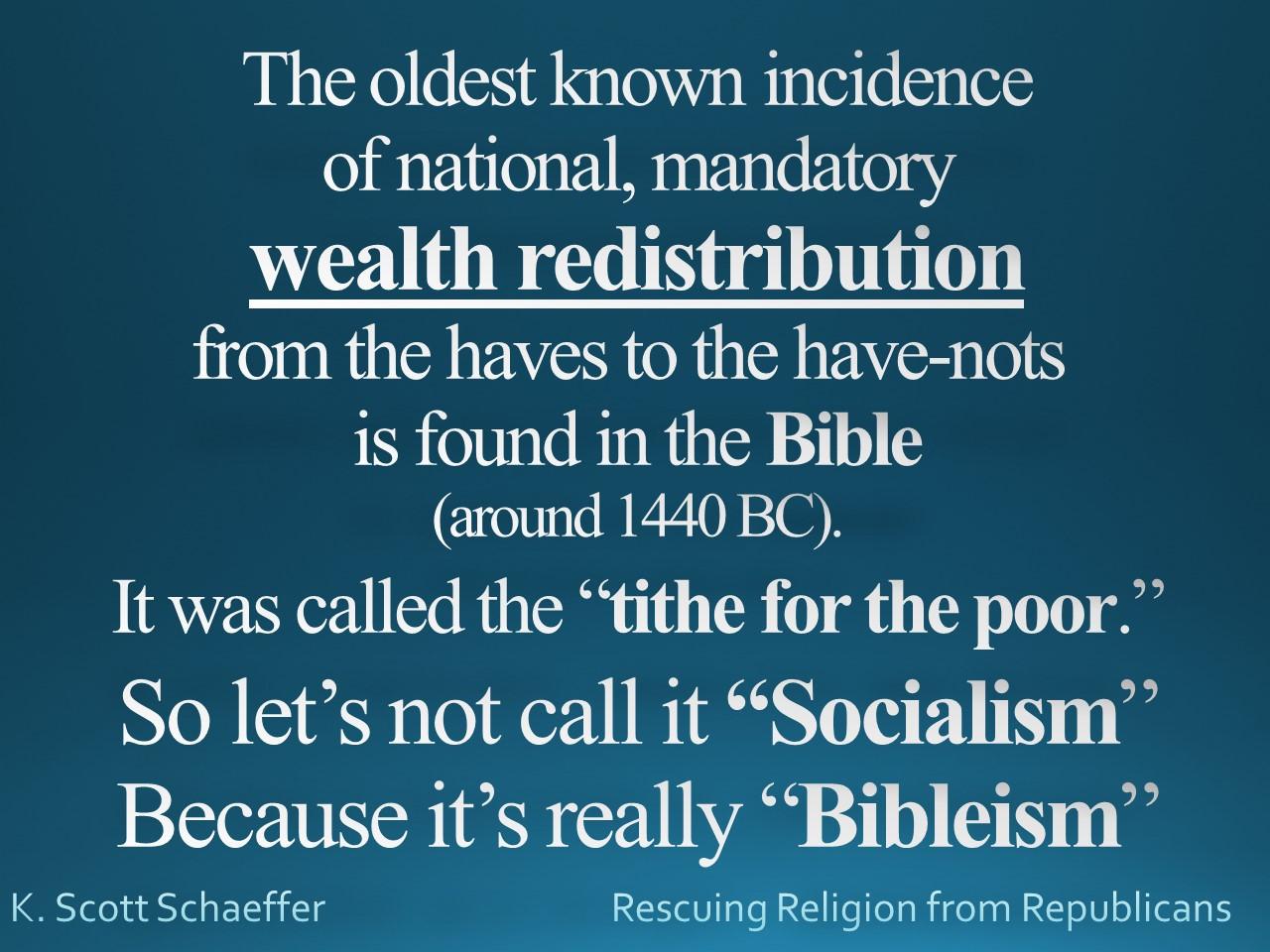 Socialism - Bibleism