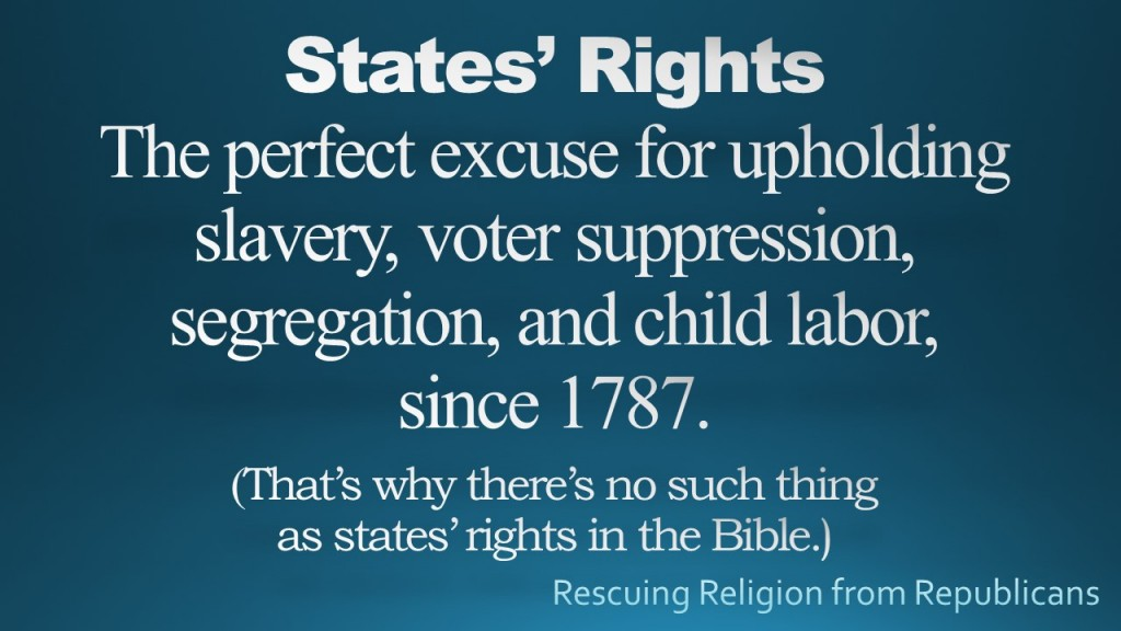States Rights since 1787