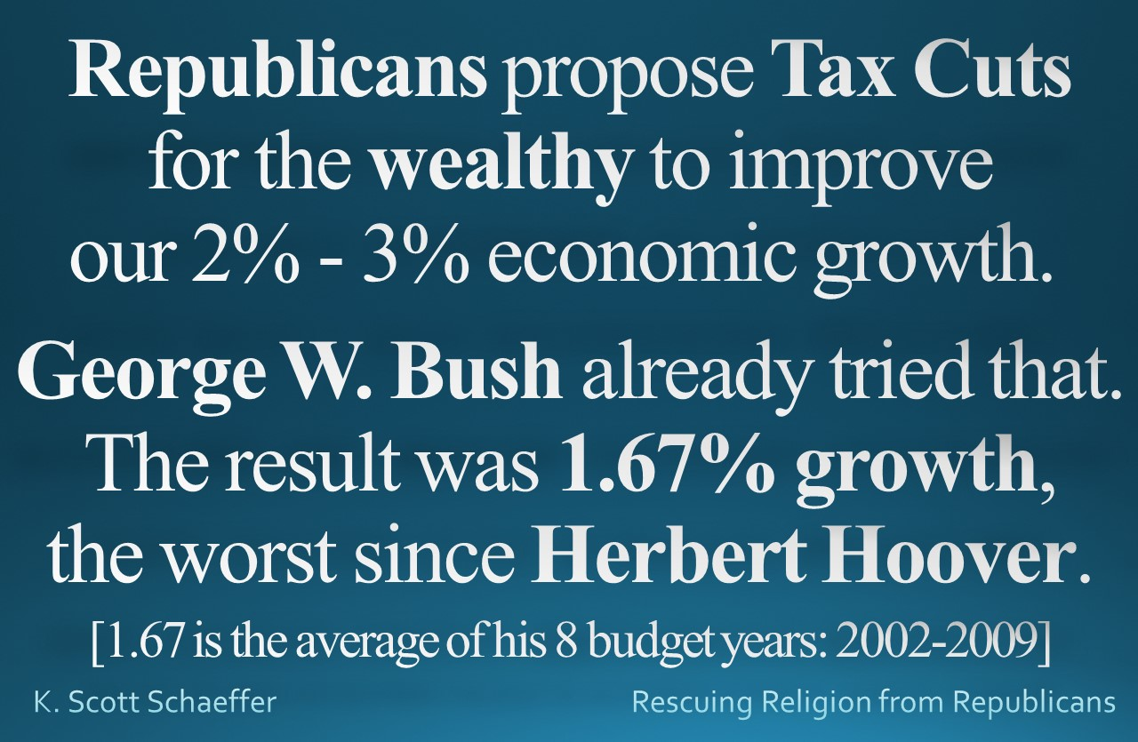 Tax Cuts - Bush growth 1.67