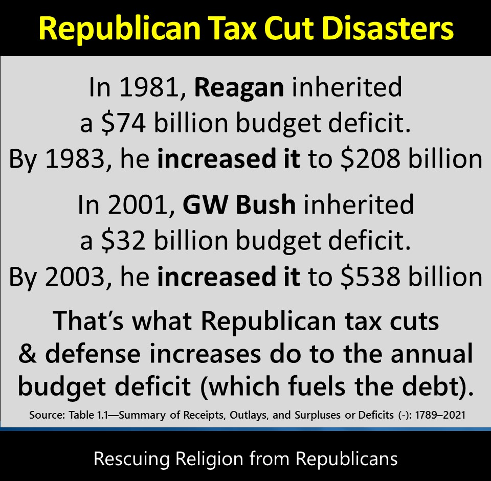 bush tax cuts The phrase bush tax cuts refers to changes to the united states tax code passed originally during the presidency of george w bush and extended during the presidency of barack obama, through:.