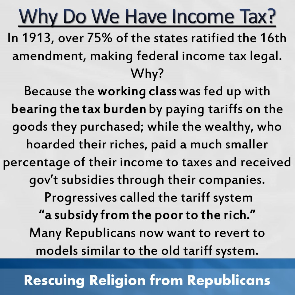 Taxes - why do we have them.