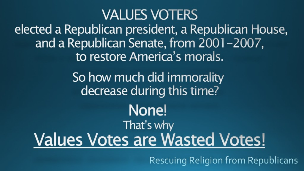 VALUES VOTERS