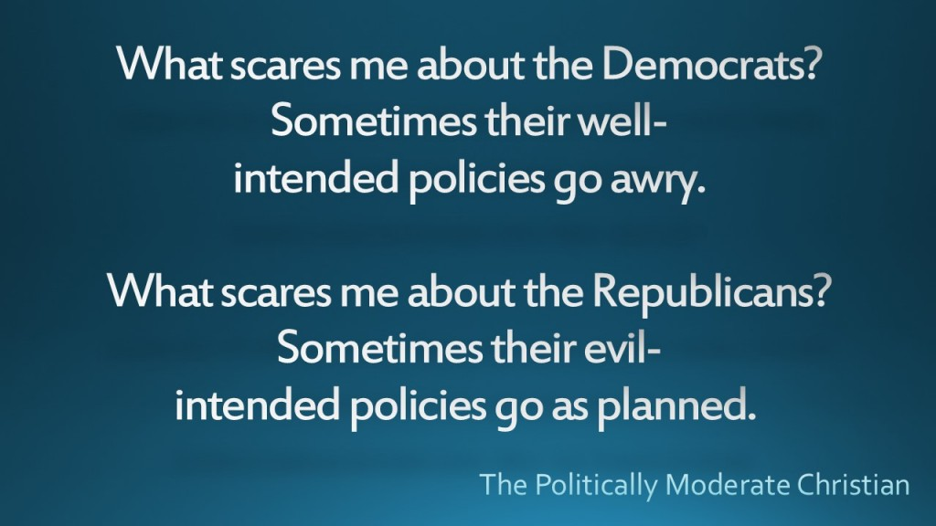 What scares me about the Democrats