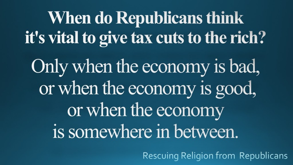 When do Republicans think